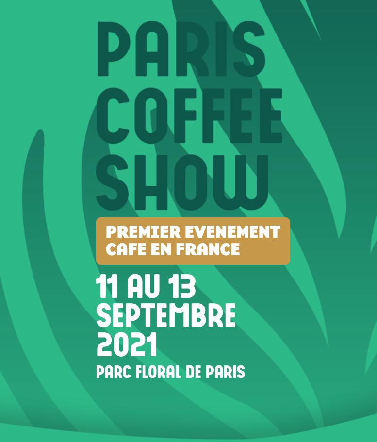 Paris coffee show 2021 locandina